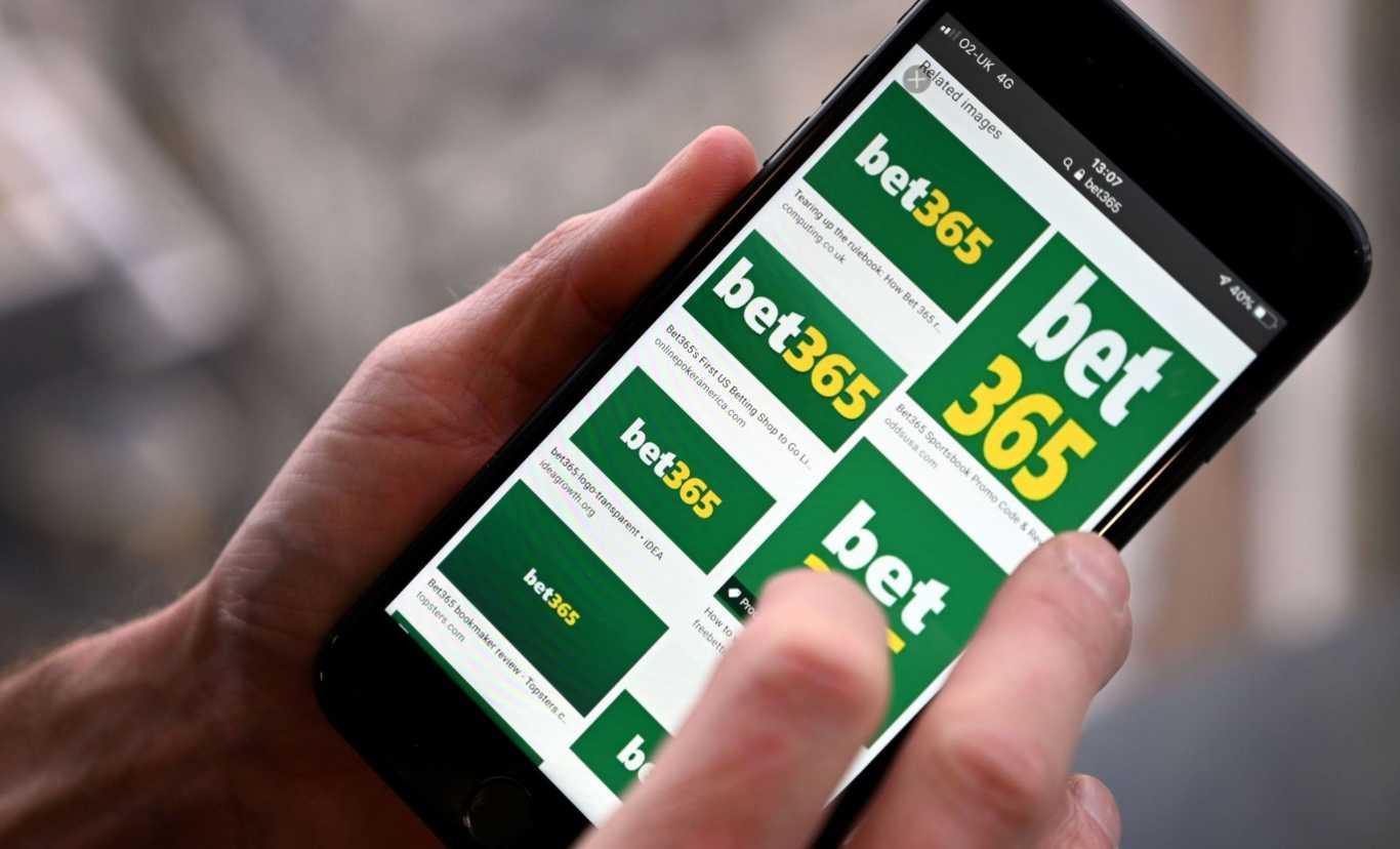 Versión móvil de app Bet365